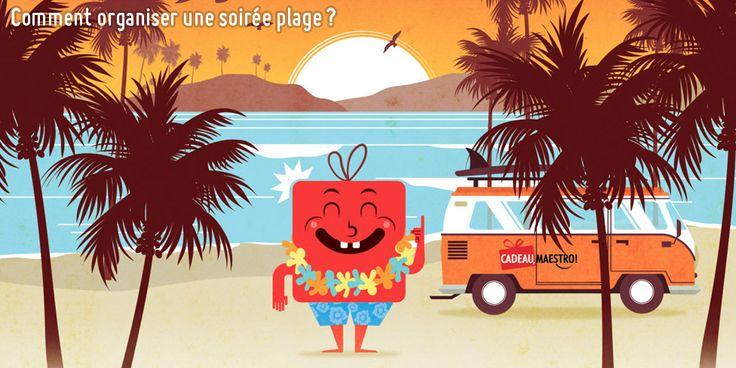 Comment organiser une soirée plage ? #plage #playa #beach #summer #été #vacances #soiree #party