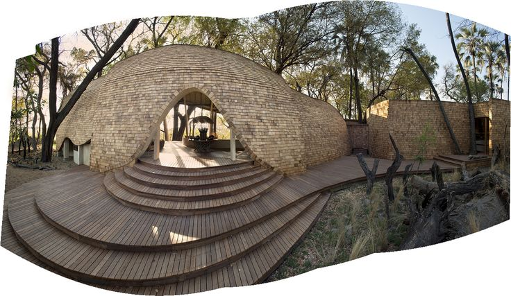 Sandibe Okavango Safari Lodge / Nicholas Plewman Architects in Association with Michaelis Boyd Associates
