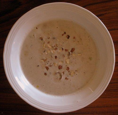 A 'Tangled' Treat: Creamy Hazelnut Soup | SavorSRapunzel's favorite: hazelnut soup