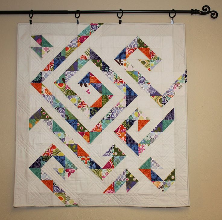 half-square triangle quilts | left over half square triangles from two previous terrain projects ...