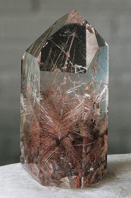 Rutilated quartz