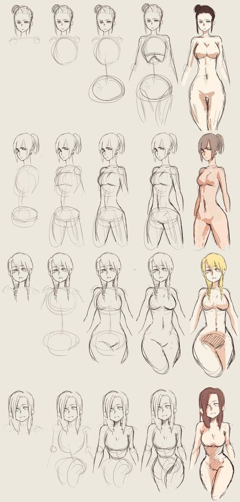 How to Draw Curvy Bodies by hannitee.deviantart.com on @DeviantArt