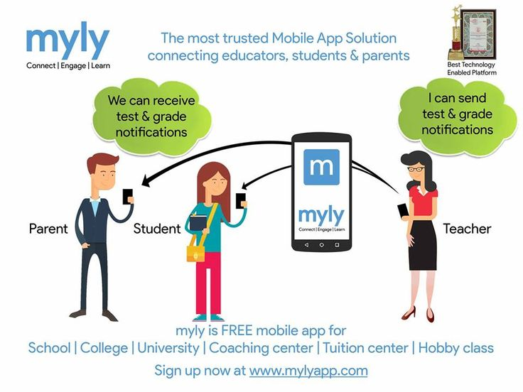 The most trusted Mobile App Solution & School ERP  Connecting educators, students & parents  Send & receive test & grade notification  Know more at http://bit.ly/2dkdvIQ