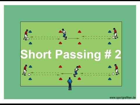 U8 Soccer Passing Drills And Activities - YouTube