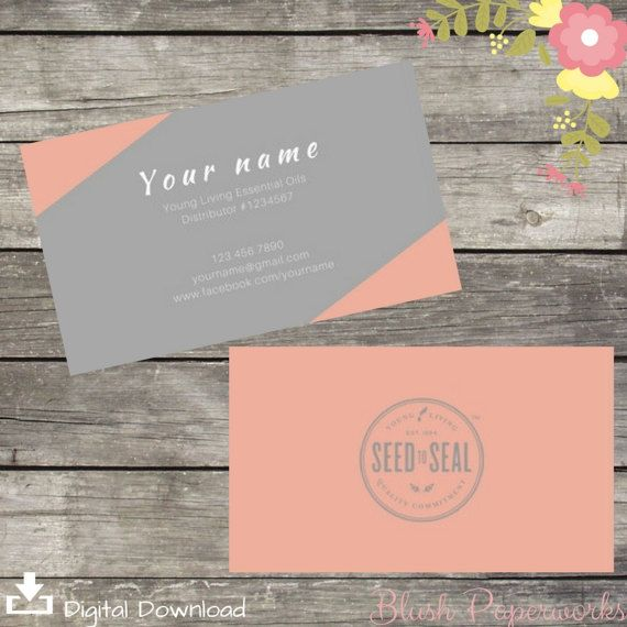 8 best YL Business Card ideas images on Pinterest Young living