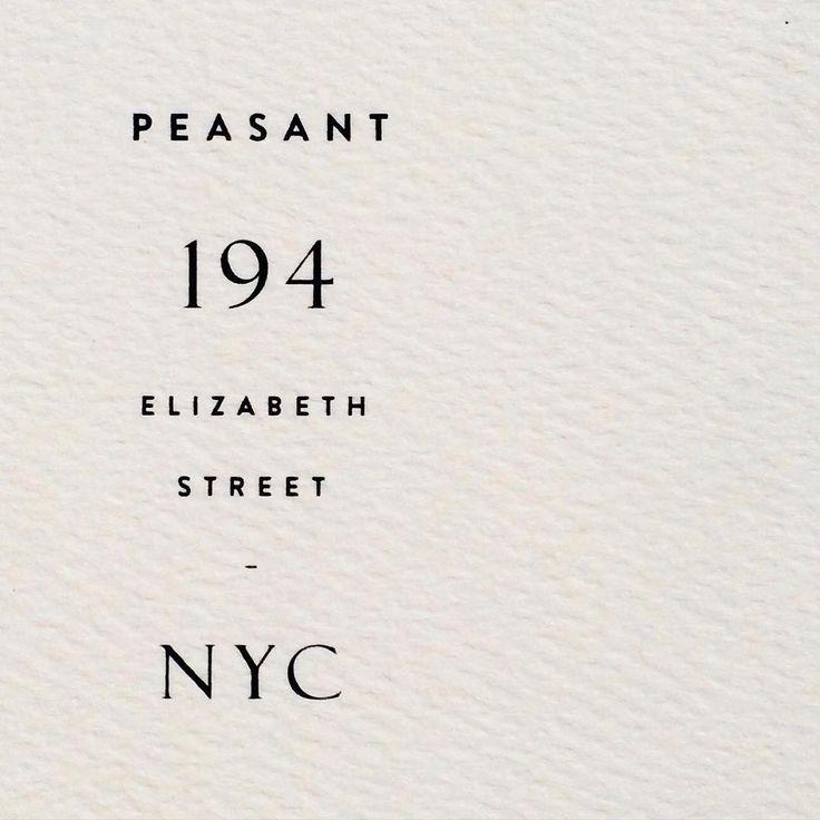 Sweet typographic relief