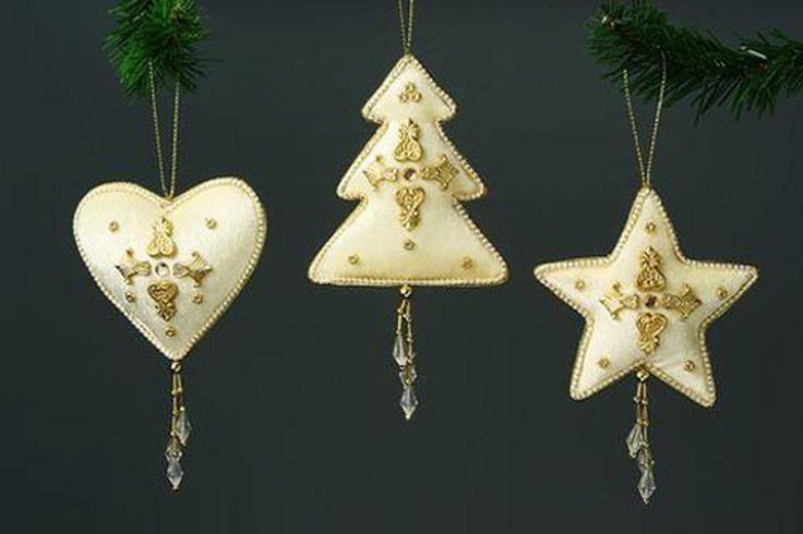Картинки по запросу украшения на елку из фетра