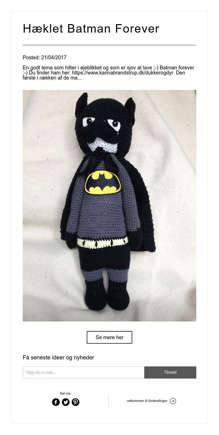 Hæklet Batman Forever