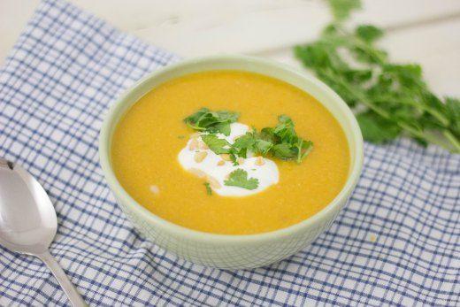 pompoensoep - favoriete gerecht van Maartje. Benieuwd naar het recept? Lees dan snel onze blog!