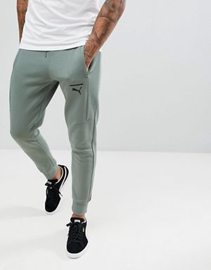 cfbf1fc58923 Puma Pace Skinny Joggers In Green 57680923