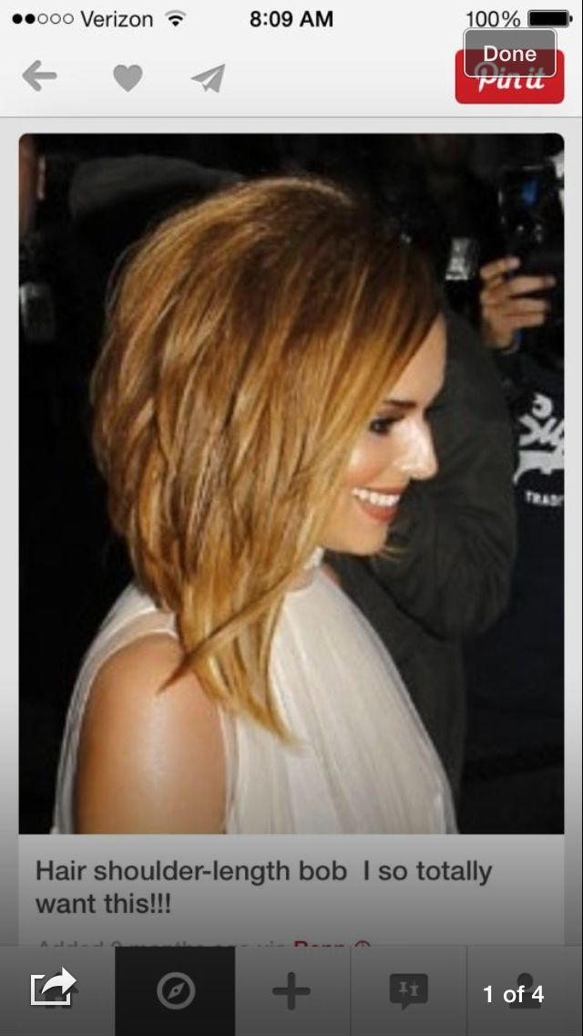 The hair I want and will have!