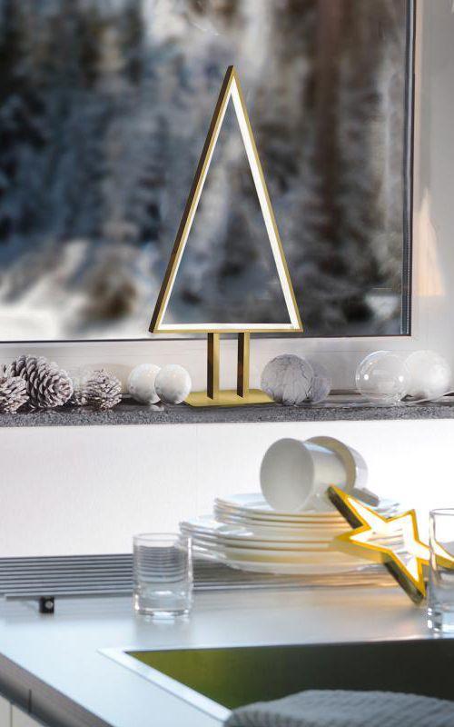 Amazing Einfache Dekoration Und Mobel Atmosphaerisch Indirekte Beleuchtung #12: Sompex Pine LED: Eine Tolle Dekoration, Nicht Nur Für Die Weihnachtszeit:  Die Leuchte