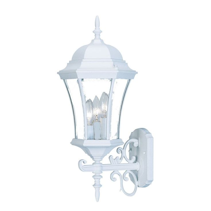 Hubbardton Forge Tourou: Brynmawr 3 Light Outdoor Wall Lantern