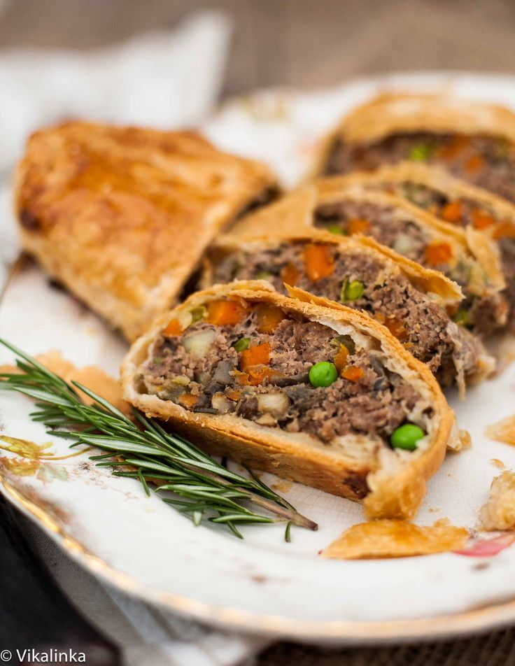 """Ground Beef Wellington...wow, this looks easy and yummy....and since I am not a fan of """"the real deal"""", this sounds even better."""