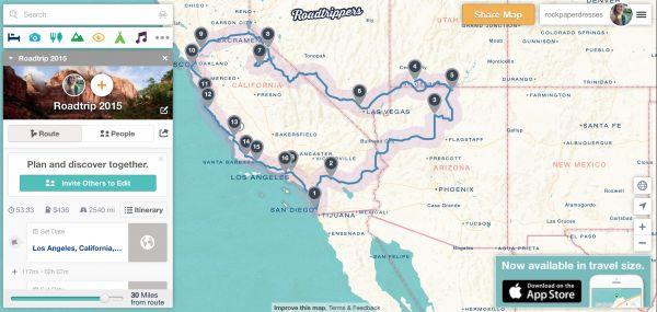 Tip: Uundværlig roadtrip-app til planlægning