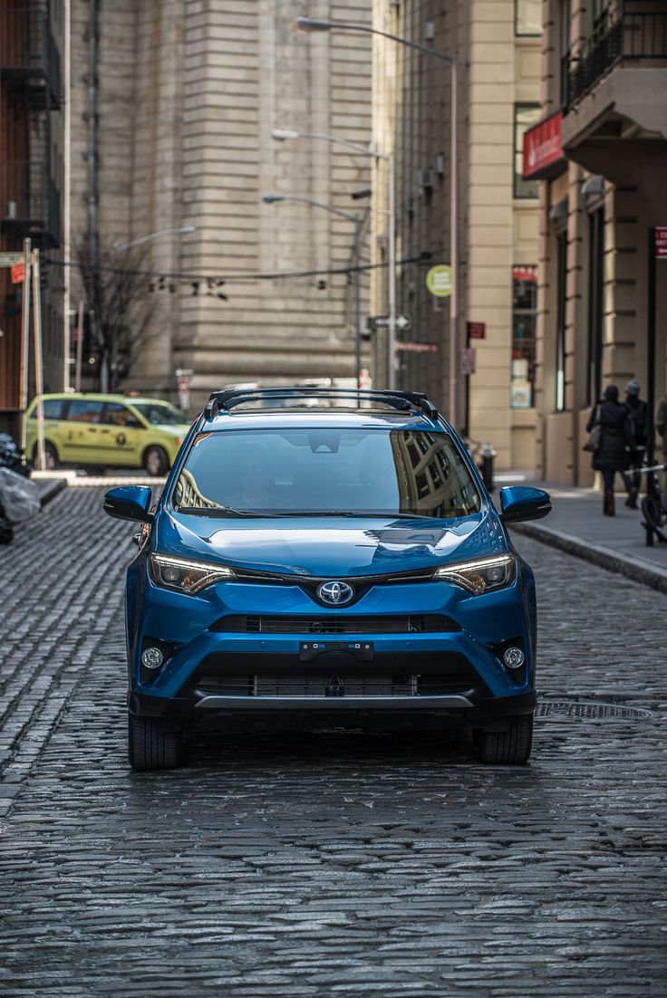 Driving through nyc is an easy task with the rav4hybrid options shown