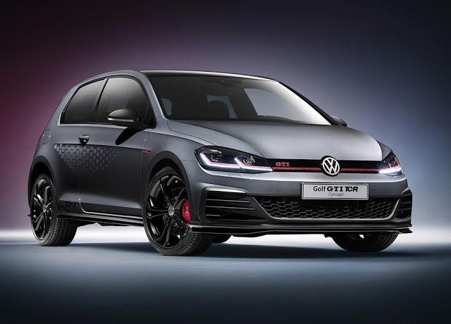 2018 Volkswagen Golf Gti Tcr Concept Volkswagen Golf R