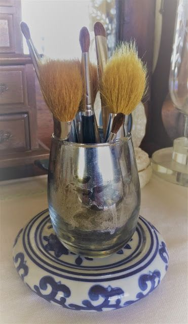 Cleaning Makeup Brushes & DIY