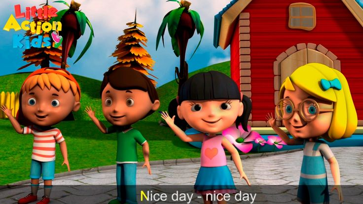 Kids Hello Song! Sing along with - hello, nice day, pleased to meet you. A welcome and greeting song with lyrics sung by kids for kids. Children will love to sing and dance along with one of Little Action Kids most popular song. Great brain break song sung in schools, early childhood centres and homes!  Subscribe now for more fun kids songs https://www.youtube.com/channel/UCeotJ7JiJ1iSDRFo51JV-sw?sub_confirmation=1