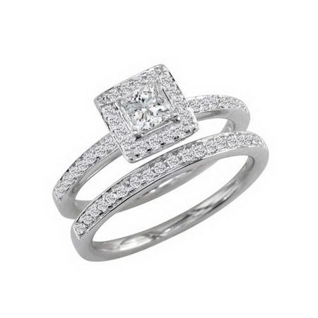 Elegant Affordable Diamond Wedding Rings Sets
