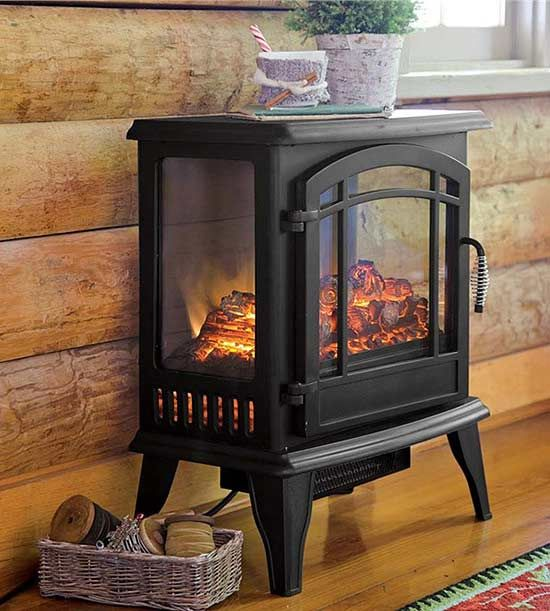 Instant Ambience: Cozy Up With These Electric Fireplaces  Small Electric Fireplaces