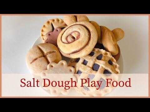 Salt Dough Recipe/ DIY Play Food – YouTube