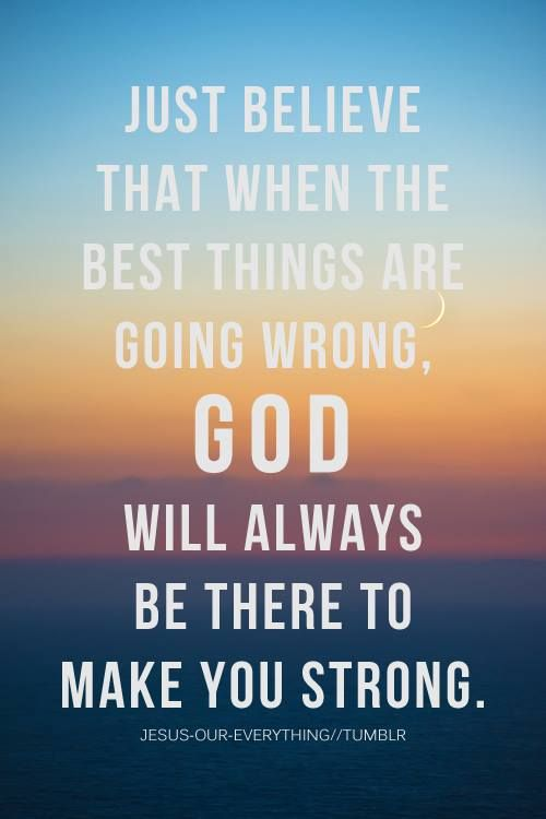 When good things are going wrong, God will always make us strong   https://www.facebook.com/verseinspire/photos/10152278748306718