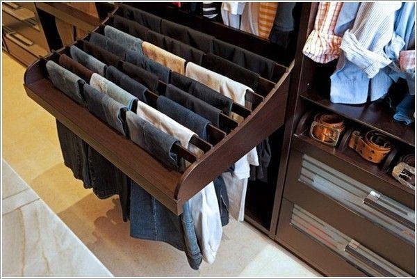 Giá treo dạng trượt cho thiết kế tủ quần áo