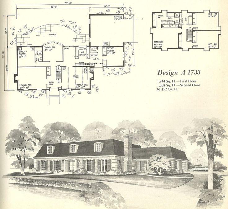 283 best floor plans classic images on pinterest floor plans