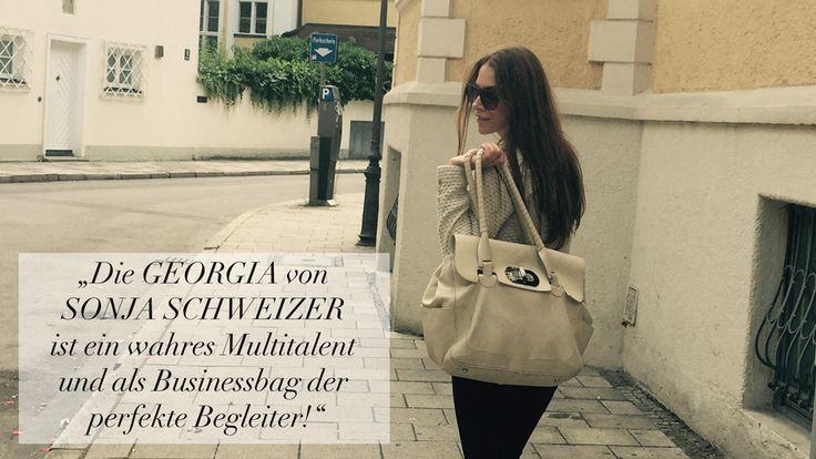 Equistyle Blog | DIE BUSINESSBAG GEORGINA IM PRAXISTEST | Lest alles über die elegante Tasche von Sonja Schweizer auf unserem Blog!