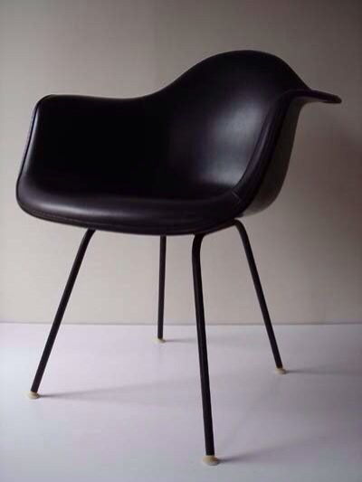 charles ray furniture. eames in matte black charles ray furniture