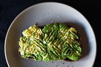 Salted Avocado Toast, so good!