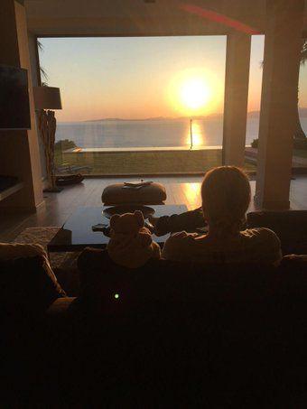 David Garrett- Sunset/ 25 May,2015 @david_garrett/pic/Twitter