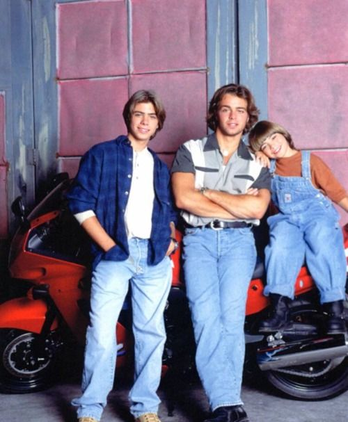 Brotherly Love, which I mostly watched because I had a huge crush on Matthew Lawrence.