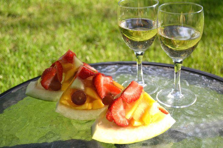 Fruity Watermelon Jelly - no added sugar