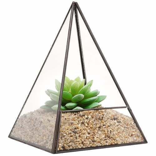 Glass Terrarium Indoor Outdoor Desk Table Home Office College Dorm Planter
