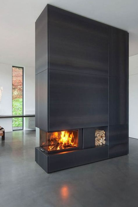 Die besten 25+ Kaminverkleidung Ideen auf Pinterest tv über - verblendsteine wohnzimmer grau