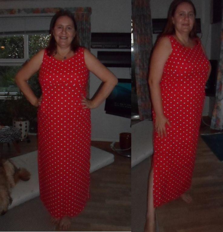 My first homemade dress.