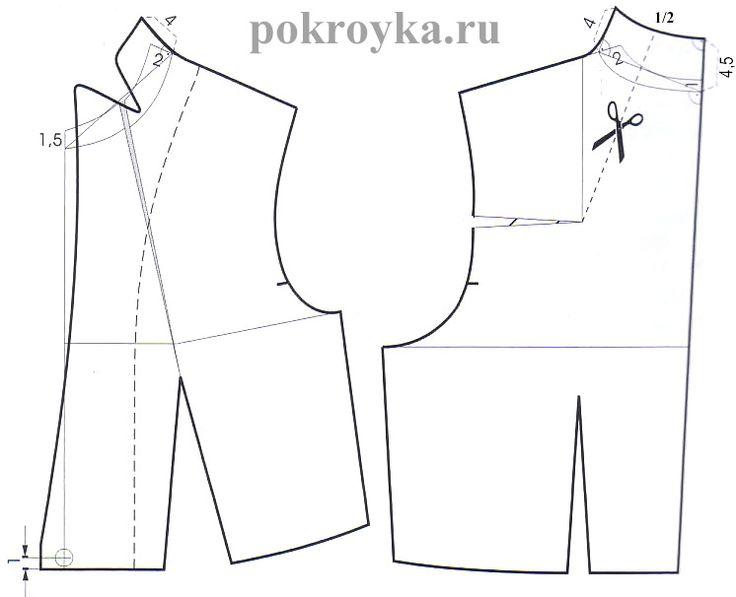 Modeling collar stoekpokroyka.ru lessons tailoring | pokroyka.ru-cutting and sewing lessons