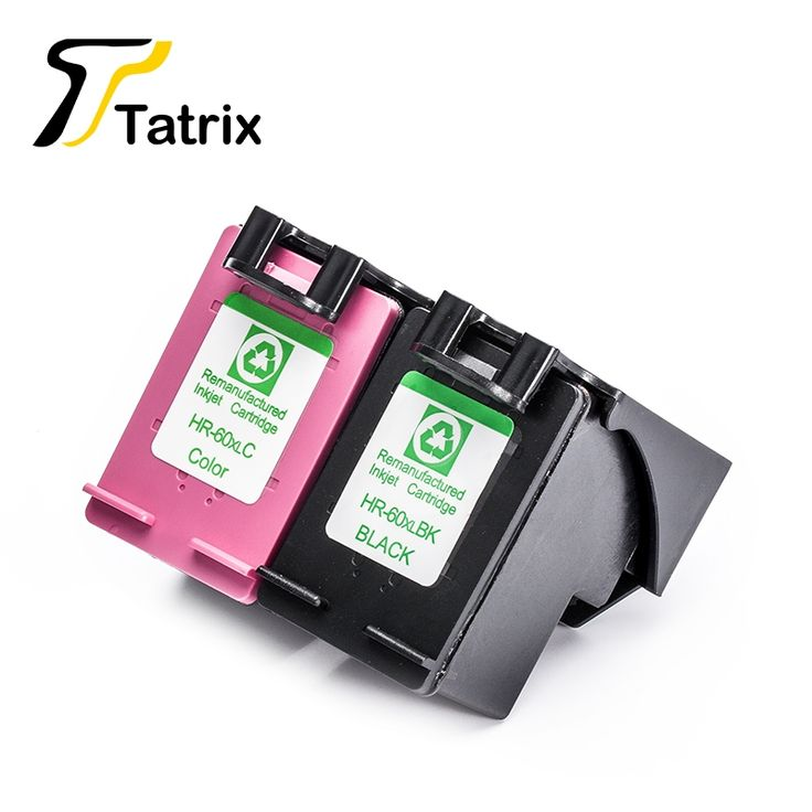 24.00$  Buy here - http://ali62b.shopchina.info/go.php?t=32806692881 - 2PK For HP60XL Black/Tri-Color With Chip Remanufactured Ink Cartridge For HP Deskjet F2560/F2568/F4280/F4288 Printer  #aliexpressideas