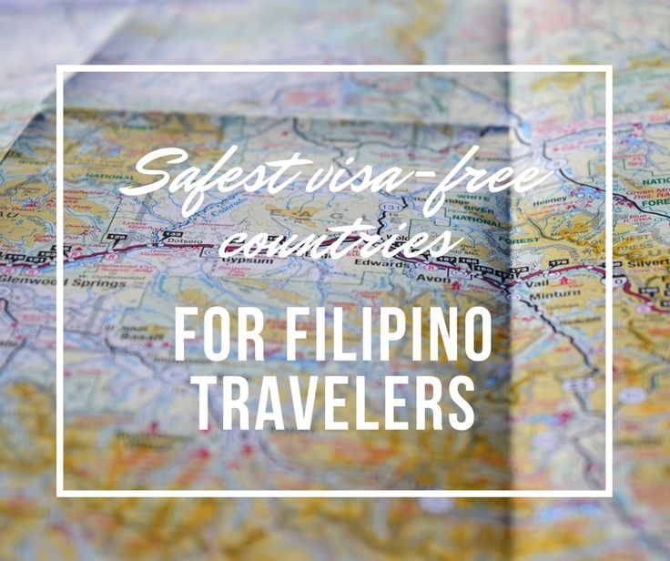 Most of us consider two things when searching for countries to head to: Is it visa-free? Is it safe?  When it comes to safety it's hard to just lean on hearsay. So I created a post that will try to answer both questions - Filipino travelers' questions in particular - using a factual research-based study: the Global Peace Index (GPI). New post on safest and least safe countries in the world and visa-free countries for Filipino travelers ranked according to safety now up on the blog. Click…