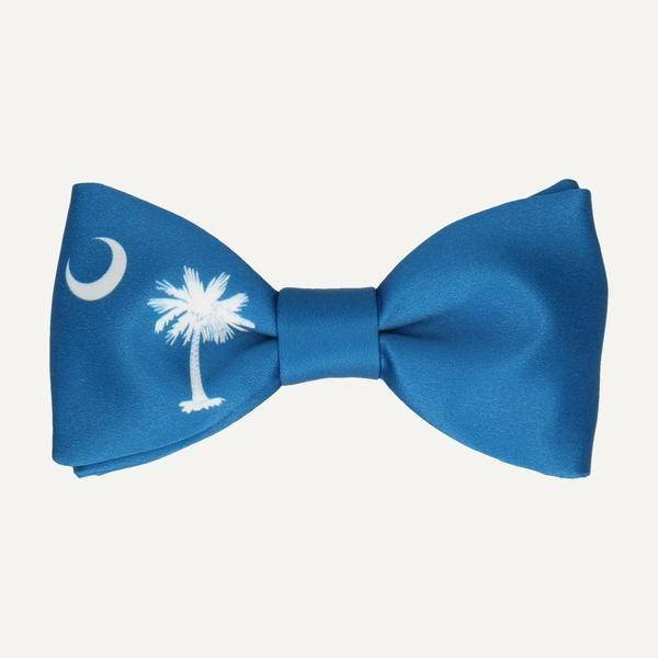 SOUTH CAROLINA STATE FLAG BOW TIE