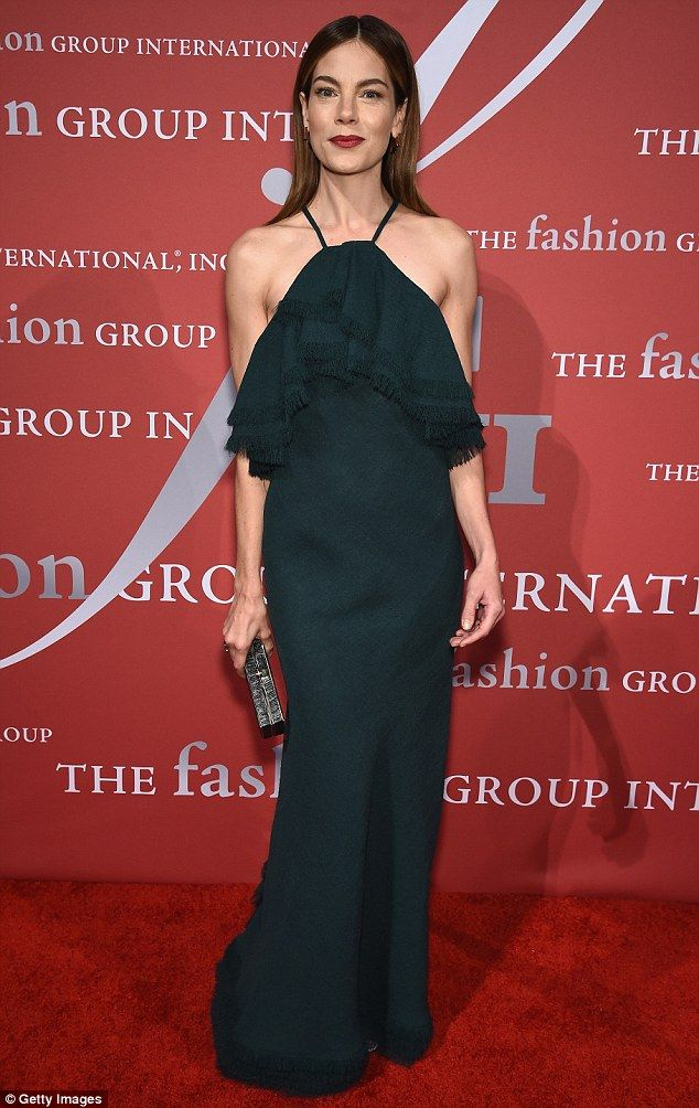 Michelle Monaghan stunned in sexy shoulderless Jason Wu gown at Fashion Group International Night Of Stars Gala in NYC on October 22, 2015