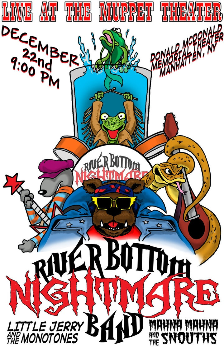 The river bottom nightmare band würde mit