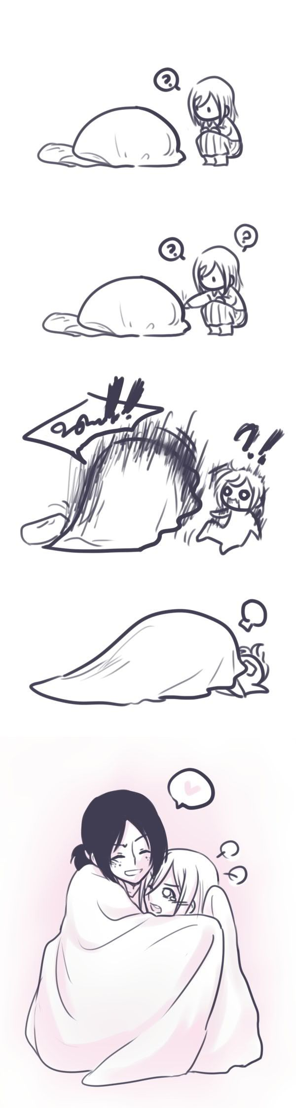 Shingeki no Kyojin, Cute, Ymir x Christa