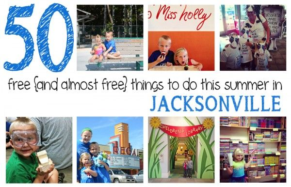 50 Free (and almost free) Things to Do In Jacksonville this Summer