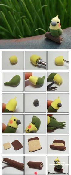 Pajarito Papagei / Sittich