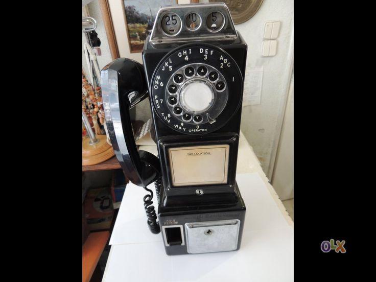 Telefone Cabine Americano - Vintage