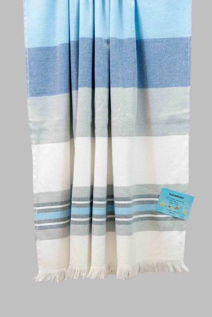 Azure Barbados Turkish Towel Turkish Towels Towel Beach Towel