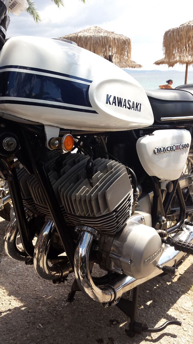 1969 Kawasaki Mach III 500